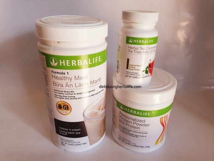 Bộ 3 herbalife giảm cân nhanh an toàn và hiệu quả, hàng chính hãng