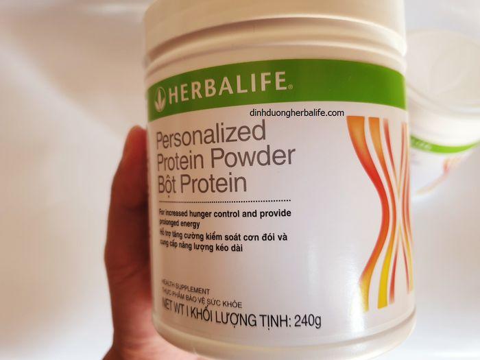 Sữa dinh dưỡng ăn kiêng Herbalife Protein( đạm herbalife) - giúp giảm cơn đói, săn chắc cơ thể 2