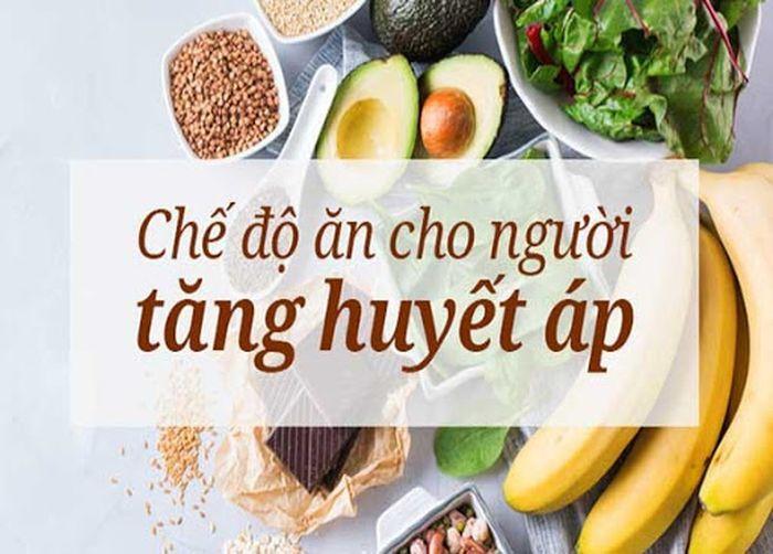 Chế độ ăn cho người cao huyết áp, tim mạch
